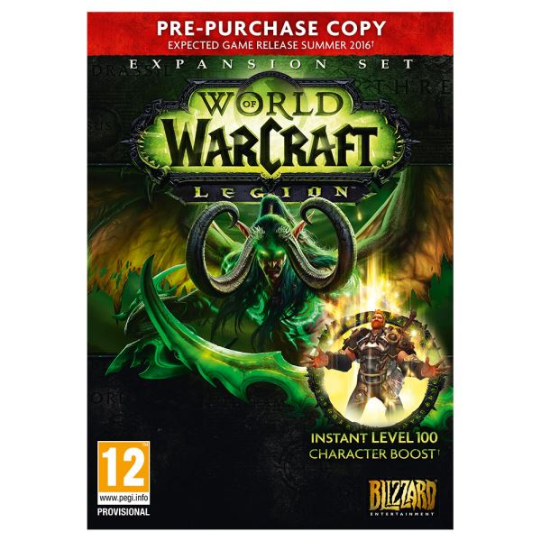PC WORLD OF WARCRAFT: LEGION COLLECTOR EDITION