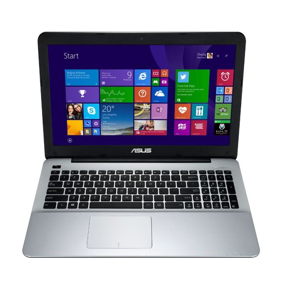 ASUS X555LN CORE İ7 4510U 3.1GHZ-8GB RAM-1TB HDD-2GB-15.6