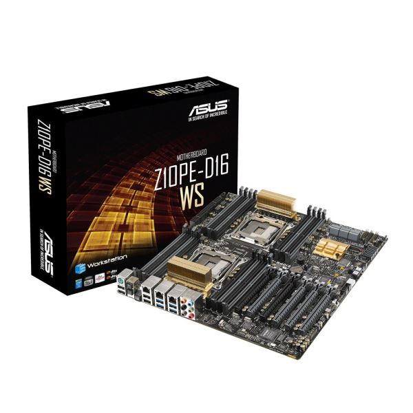 ASUS Z10PE-D16 WS Intel C612 Dual Soket 2011-3  DDR4 2133MHz Workstation Anakart