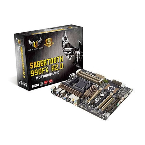SABERTOOTH 990FX R2.0 AMD 990FX/SB950 AM3+ DDR3 1866MHz SATA 3.0 USB 3.0 Anakart