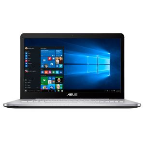 "ASUS N752VX CORE İ7 6700HQ 2.6GHZ-24GB RAM-256SSD+1TB HDD-17.3""-4GB GTX950M-W10"