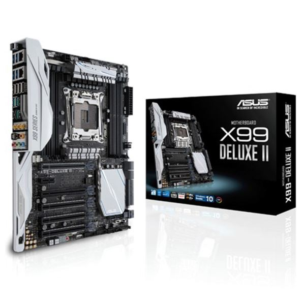 ASUS X99 DELUXE II Intel X99 Soket 2011V3 DDR4 3333Mhz (O.C) Anakart