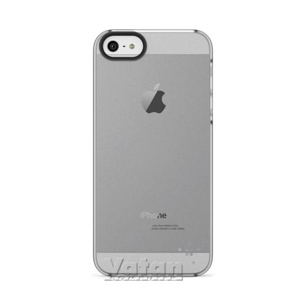 IPHONE 5,  SHIELD SHEER MATTE POLİKARBON MAT SAYDAM ŞEFFAF ARKA KAPAK