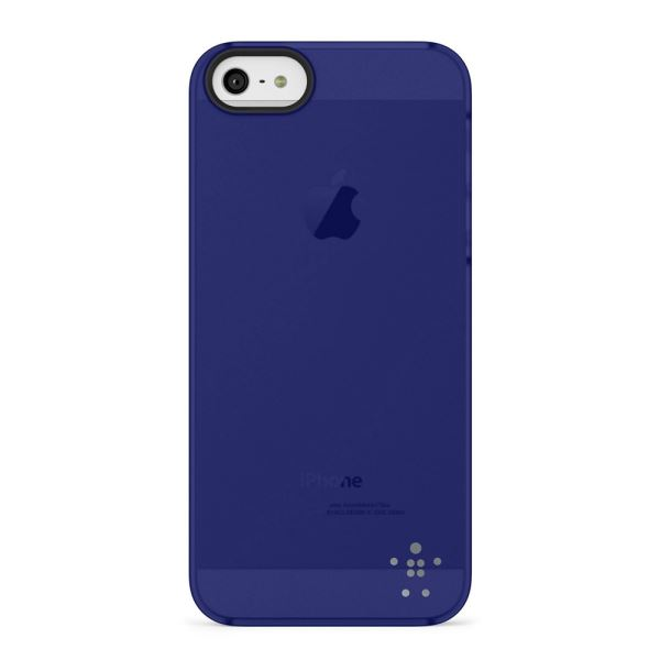 F8W162VFC03 SHİELD SHEER MATTE CASE IPHONE 5/5S POLİKARBON KILIF- (LACİVERT)