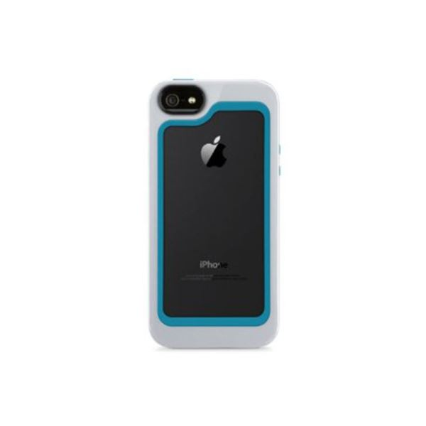 F8W217VFC01 SURROUND CASE IPHONE 5/5S KILIF- (BEYAZ/MAVİ)