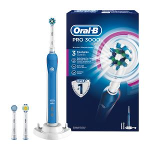 BRAUN D20 ORAL-B PRO-CARE 3000 CROSS ACTION BOX ŞARJLI DİŞ FIRÇASI