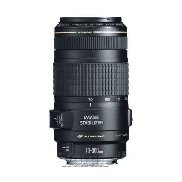 CANON EF 70-300 F4.5-5,6 IS USM LENS