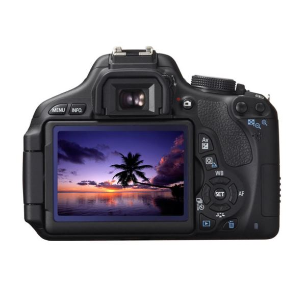 CANON EOS 600D 18-55 IS+55-250 IS  18 MP 3