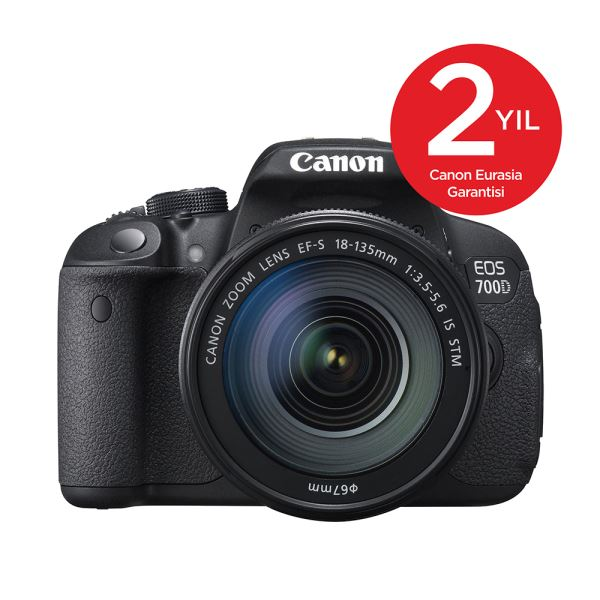 CANON EOS 700D 18-135 IS STM 18 MP 3,0