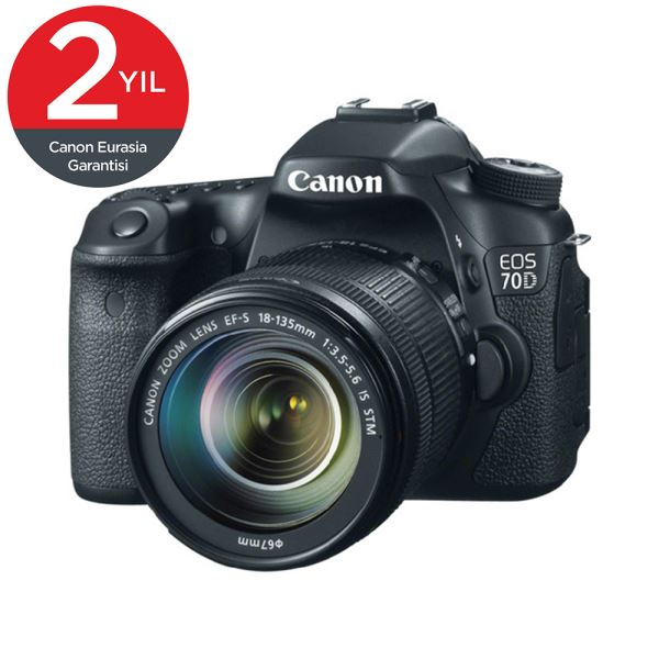 CANON EOS 70D 18-135 IS STM 20.2 MP 3