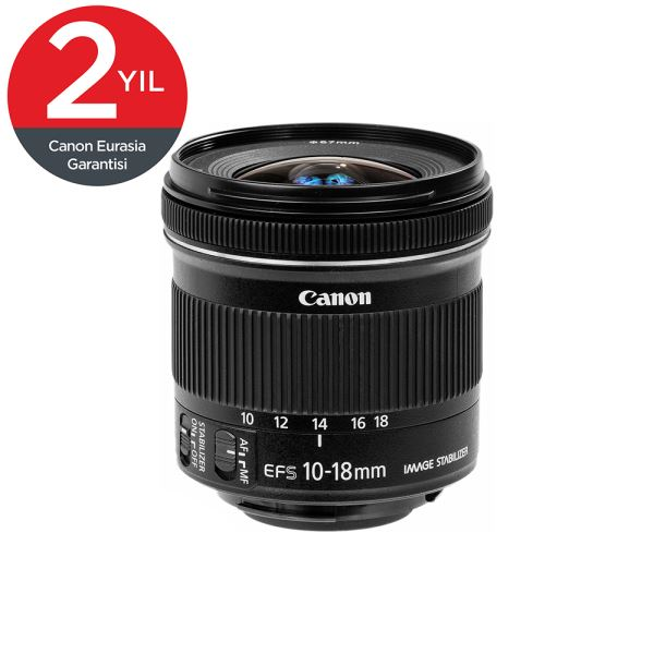 CANON EF-S 10-18MM F4.5-5.6 IS STM EUR LENS