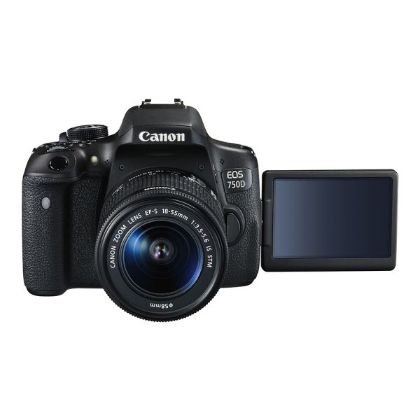 CANON EOS 750D 18-55 IS 24.2  MP 3,0