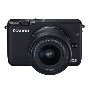 CANON EOS M10 15-45 IS STM LENS KIT 18 MP AYNASIZ SLR FOTOĞRAF MAKİNESİ