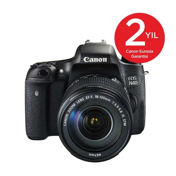 CANON EOS 760D 18-135 IS 24.2  MP 3,0
