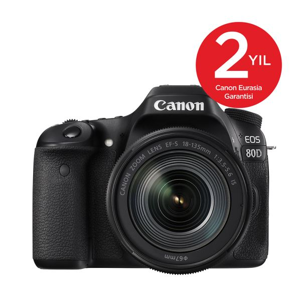 CANON EOS 80D 18-135 IS STM 24.2 MP 3
