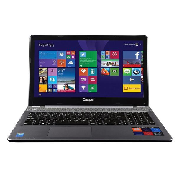 CASPER CN-V5D5200X CORE İ5 5200U 2.2GHZ-6GB-500GB-2GB-15.6-W.10 NOTEBOOK