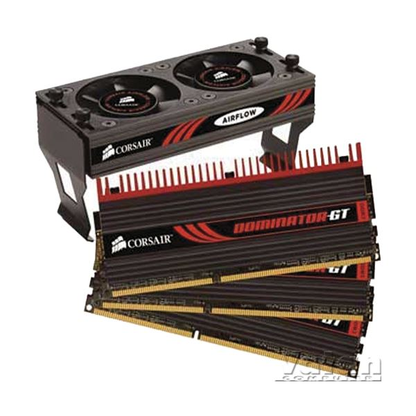 12GB (3x4GB) Dominator GT DHX+ DDR3 2000MHz CL9 Air Flow II Fanlı RAM
