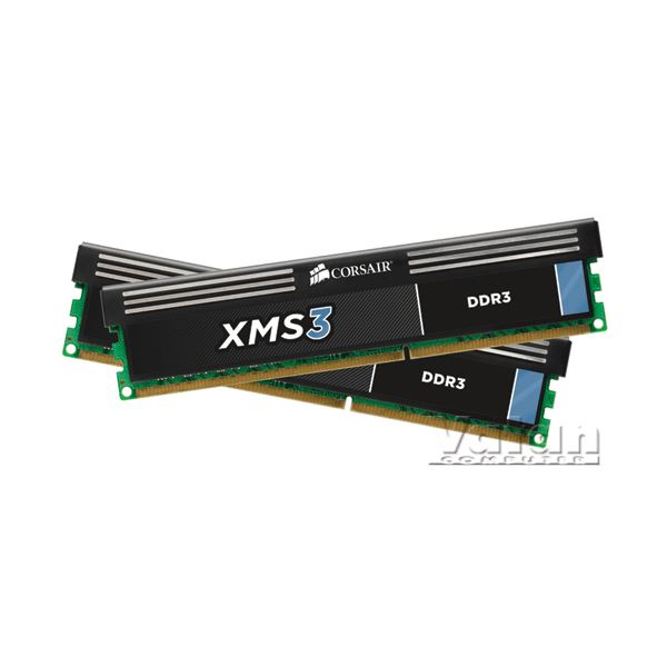 8GB (2*4GB) XMS3 1333MHz CL9 Dual Kit Ram