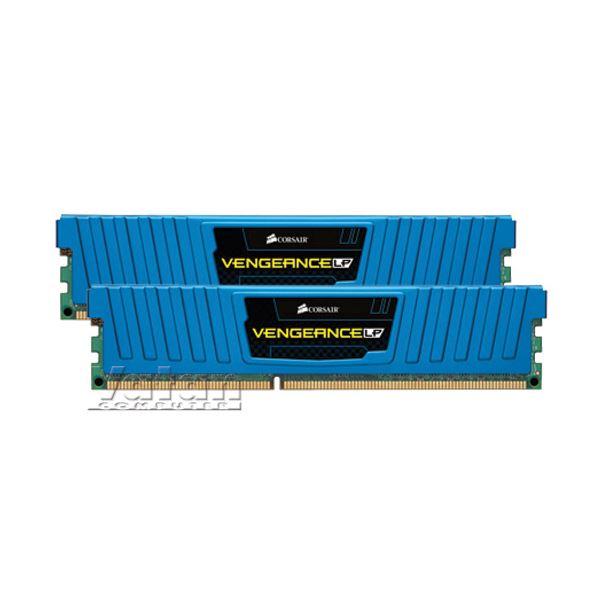 CORSAIR 8GB (2x4GB)Vengeance LowProfile DDR3 1600MHz CL9 Mavi Ram