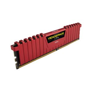 CORSAIR 8GB Vengeance Kırmızı DDR4 2400MHz CL16 Sıngle Ram