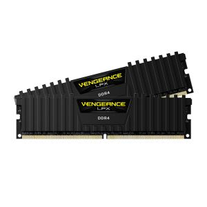 CORSAIR 16GB (2x8GB) Vengeance Siyah DDR4 2400MHz CL16 Dual Kit Ram