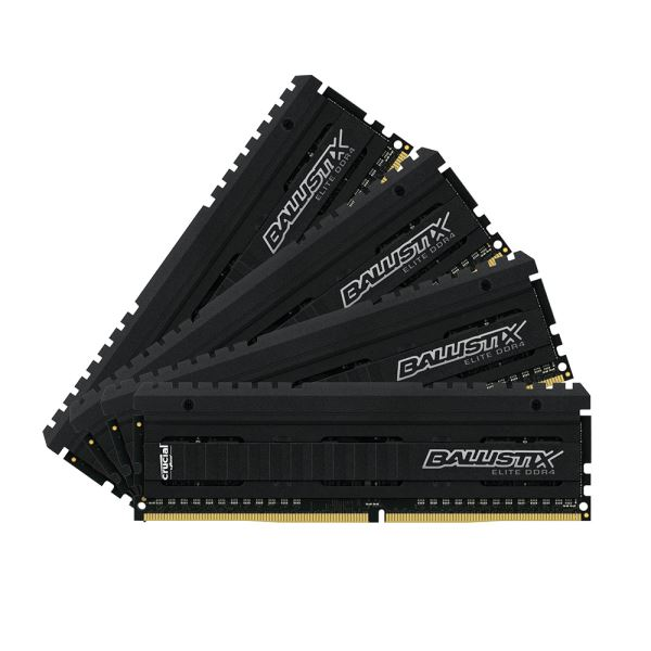 Crucial 16GB (4x4GB) Ballistix Elite DDR4 2666MHz CL16 1.2V PC Ram