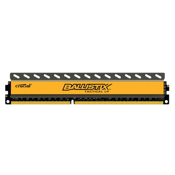 Crucial 8GB Ballistix Tactical LowProfile DDR3 1600MHz CL8 1.35V PC Ram