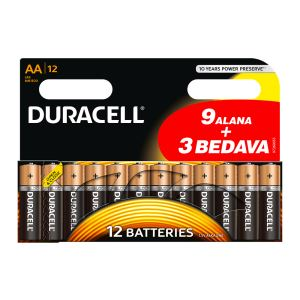 DURACELL AA 9+3 PROMO