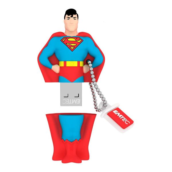 EMTEC 8GB Super Heroes Superman USB 2.0 Bellek