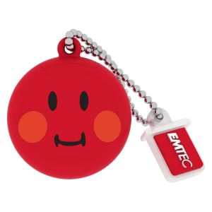 EMTEC 8GB Smiley World Red USB 2.0 Bellek