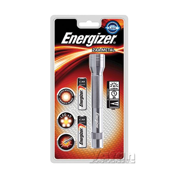 2XAA METAL LED EL FENERİ