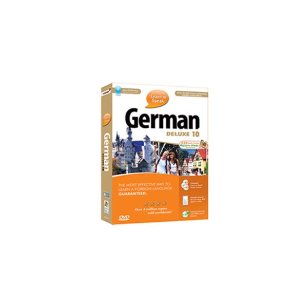 LEARN TO SPEAK GERMAN  DELUXE 10