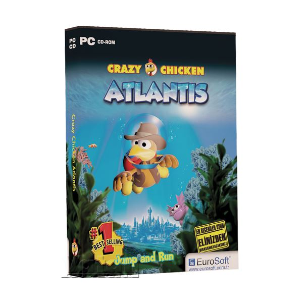Crazy Chicken Atlantis Pc