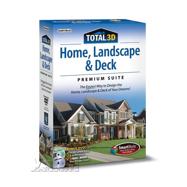 Total 3D Home Design Landscape Deck -Premium Suite