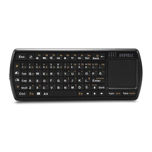 EVEREST IPKW250 WIRELESS MICRO KEYBOARD WITH TOUCHPAD