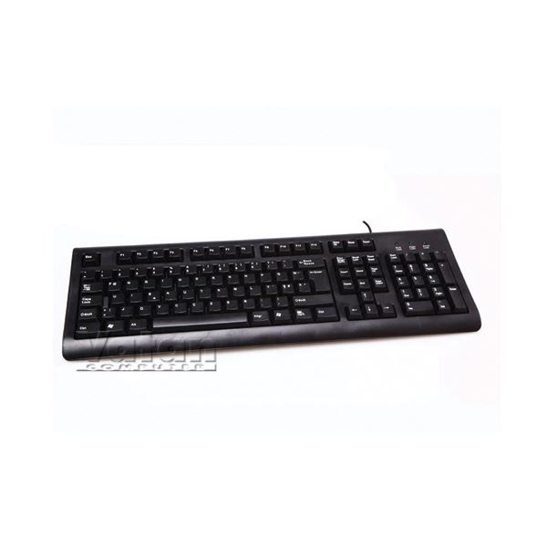 EVEREST KB-1002 STANDART F KLAVYE USB - SİYAH