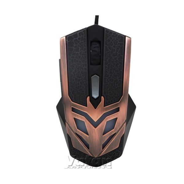 EVEREST SM-614 GAMING MOUSE - BRONZE