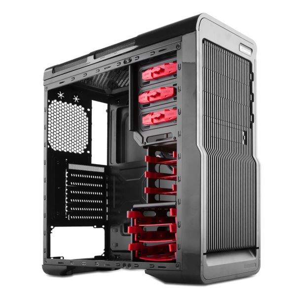 EVEREST RAMPAGE 75 GAMİNG USB 3.0 LED FANLI MidT ATX SİYAH KASA