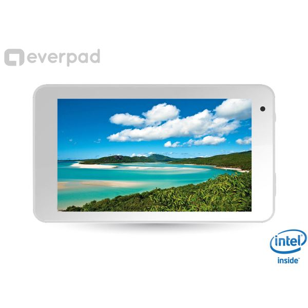 EVERPAD DC-1104  İNTEL ATOM Z2520 1.2GHZ-2GB RAM-8 GB DİSK-7''-CAM-AND.4.2.2