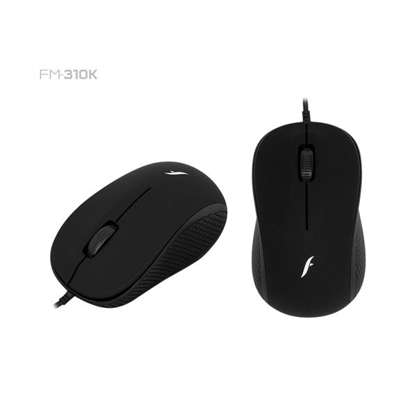 FRISBY FM-310K USB SİYAH OPTİK MOUSE
