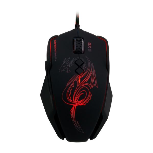 FRISBY GX6 PRO GAMING MAKRO MOUSE + MOUSE PAD
