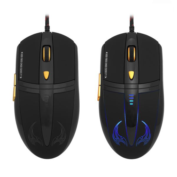 FRISBY GX9 PRO GAMING MAKRO MOUSE + MOUSE PAD