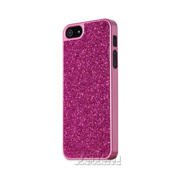 SPARKLE IPHONE 5 KILIF- (PARLAK KIRMIZI)