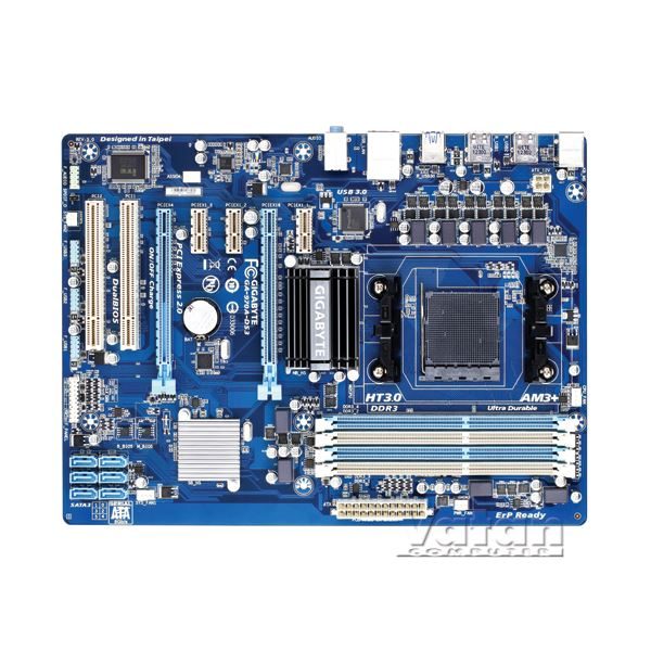 970A-DS3  AMD 970/SB950 AM3+ DDR3 2000MHz (O.C.) USB 3.0 SATA 3.0 Anakart