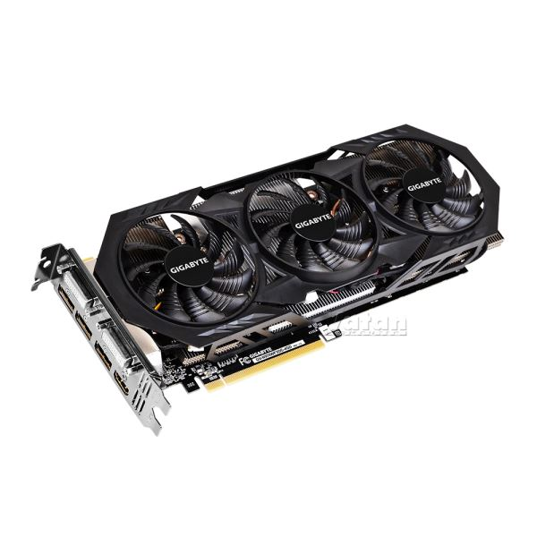 GIGABYTE GTX970 WindForce 3X OC GDDR5 4GB 256Bit Nvidia GeForce DX12 Ekran Kartı