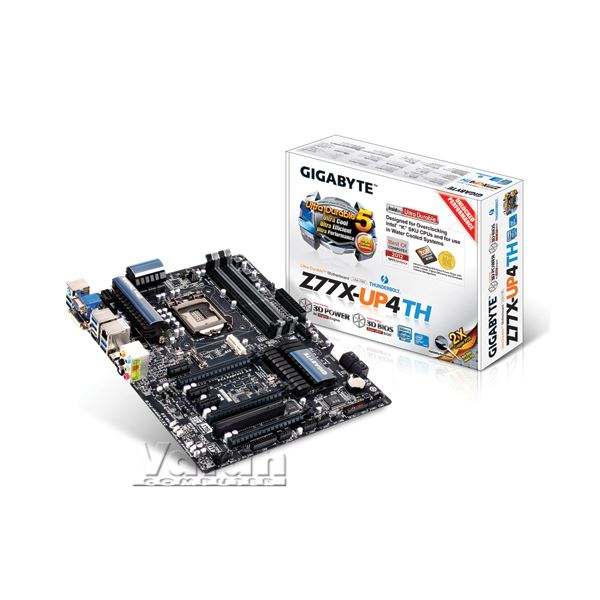 GIGABYTE Z77X-UP4 TH Intel  Z77 Soket 1155 DDR3 1600MHz Thunderbolt Anakart