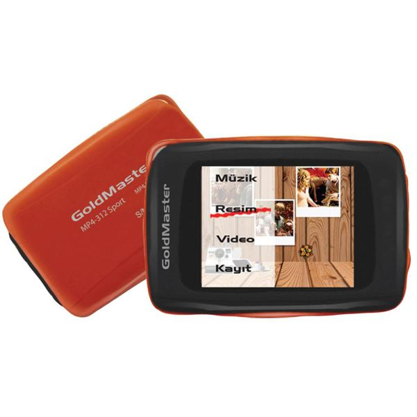 GOLDMASTER MP4-312 MP4 PLAYER (TURUNCU)