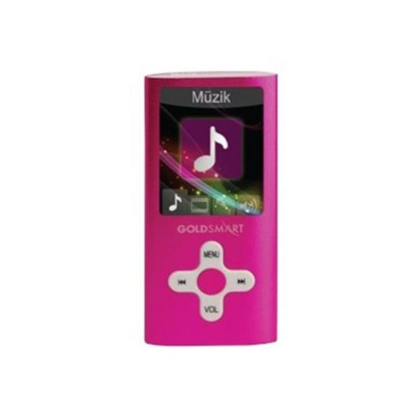 GOLDMASTER MP3-224 8GB MP3 PLAYER (PEMBE)