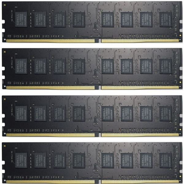 GSKILL 32GB (4x8GB) Value DDR4 2133MHz CL15 1.2V Ouad Kit Ram