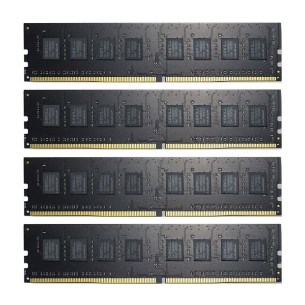 GSKILL 16GB (4x4GB) Value DDR4 2400MHz CL15 1.2V Ouad Kit Ram